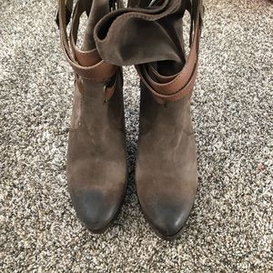 Frye Shoes - [Frye] Harlow strappy high heel boot